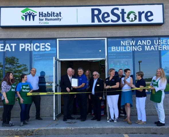Jim Wilson MPP presents to HfHH Alliston ReStore.jpg WEBSITE