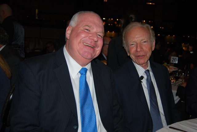 MPP Jim Wilson  Senator Joe Lieberman web