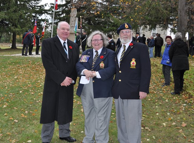 Ravenna Remembrance Day 4 2014 with Joyce Smith and WEBSITE
