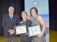 Wilson attends 3rd Annual Seniors' Information and Active Living Expo in Wasaga Beach