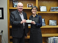 Wilson Makes Donation On Behalf Of PCs to Local Women's Shelters