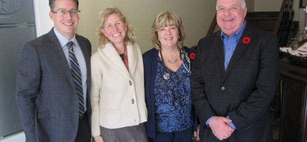 Jim visits Alliston Family Health Team