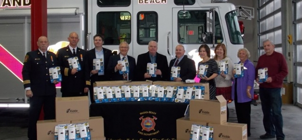 Jim Talks CO Detectors at Wasaga Beach Fire Department