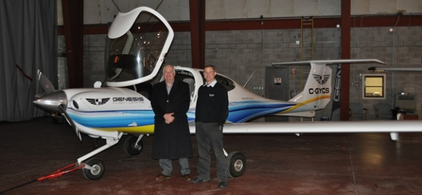 Jim Meets with Genesis Flight Centre