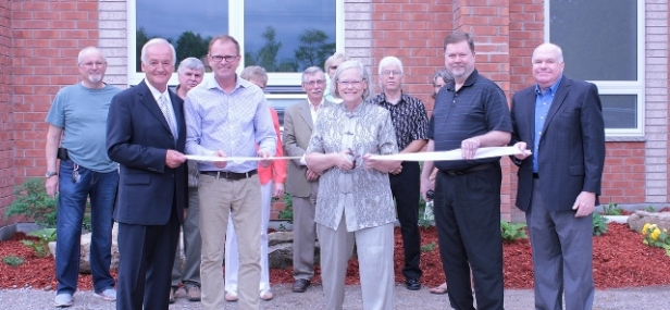 MPP Wilson helps New Lowell United Church open addition
