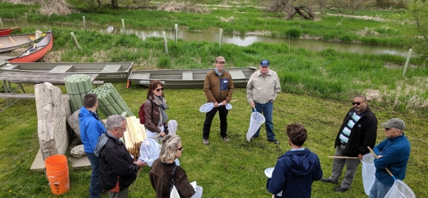 Jim attends NVCA's annual watershed bus tour