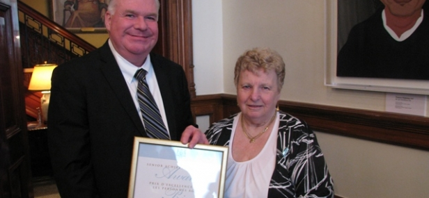 Norma Friest of Creemore awarded with Ontario Senior Achievement Award