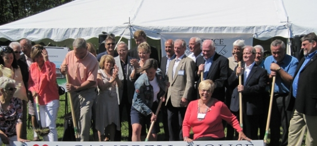 Campbell House Breaks Ground