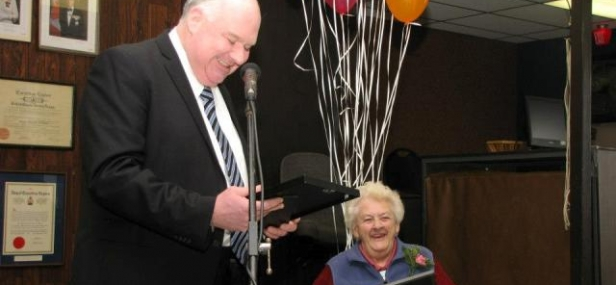 Mary Smalley celebrates 80 years