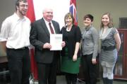 Jim meets with the Canadian Federation of Students Ontario