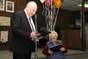 (February 16, 2013) Mary Smalley celebrates her 80th Birthday Party at the Alliston Legion.